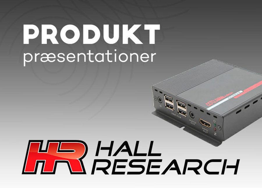 Hall Research til LydRommet