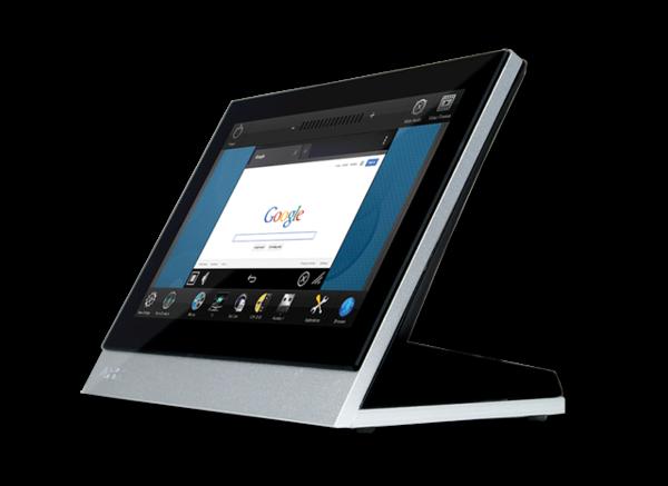 "Billede af B-Stock  7"" Modero X Series G5 Widescreen Tabletop Touch Panel  1024x600 resolution"