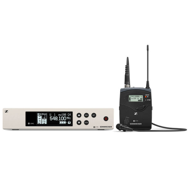 Billede af Sennheiser EW100 ME4 MOD | Trådløst clipssystem med ME 4 | bånd G 566 - 608 MHz  m/clips
